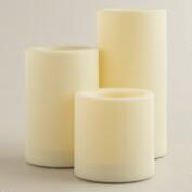 Outdoor LED Pillar Candles
