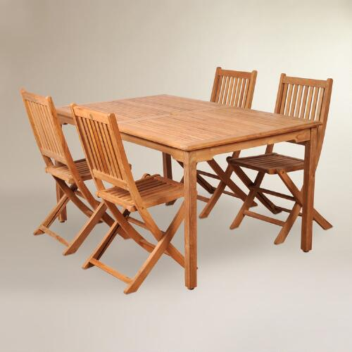 Sumar Teak Outdoor Dining Set