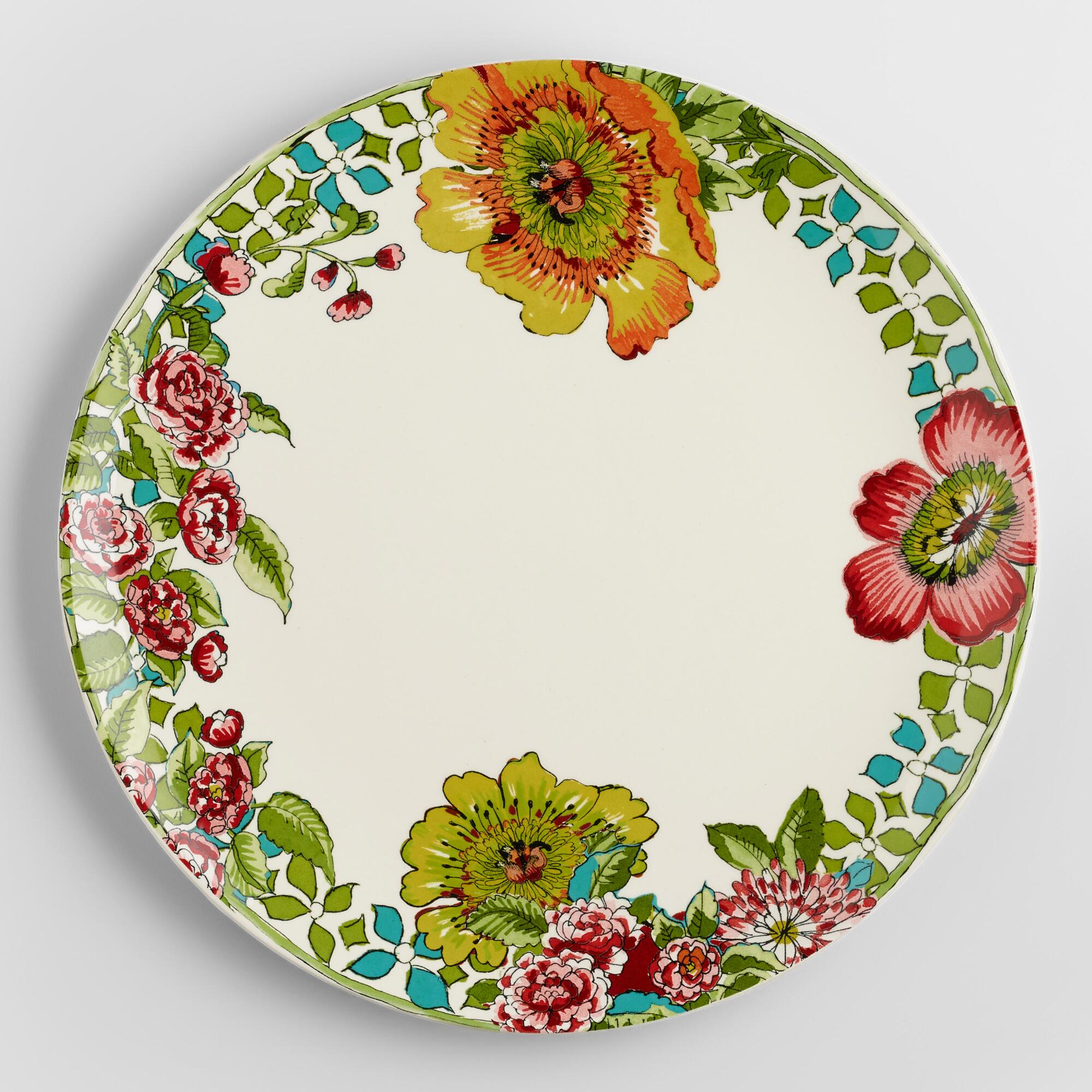 Nomad dinner plates set of world market