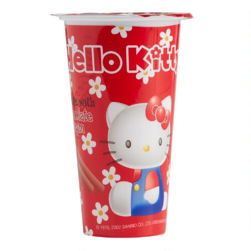 Hello Kitty Chocolate Dip Biscuits, Set of 8