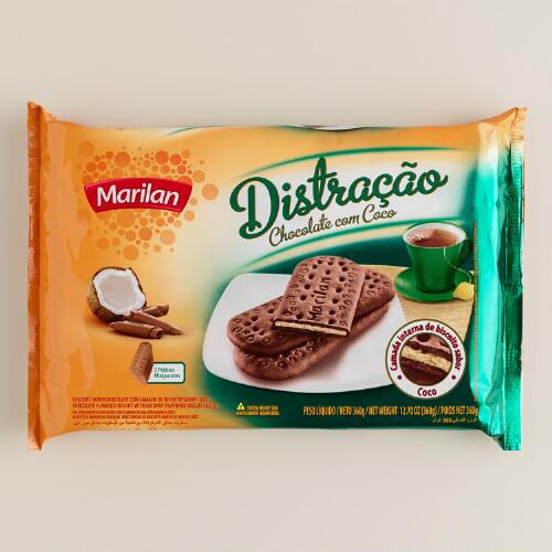 Marilan Chocolate with Coconut Biscuits