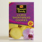 Hawaii Candy Lilikoi Shortbread Cookies