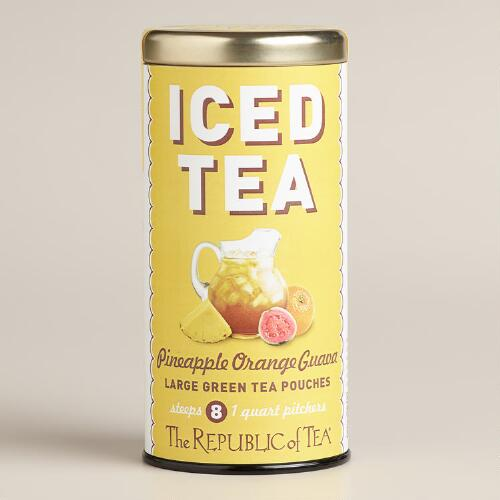 The Republic of Tea Pineapple Orange Guava Iced Tea