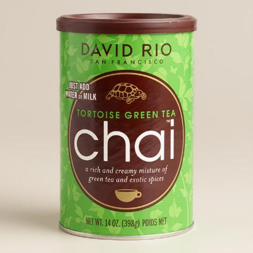 David Rio Tortoise Green Tea Chai Mix