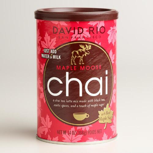 David Rio Maple Moose Chai Tea Mix