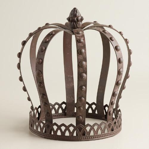 Iron Crown Decor