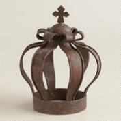King Iron Crown Decor