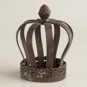 Queen Iron Crown Decor