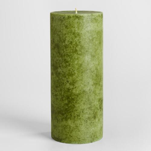 "4"" x 9"" China Pear Pillar Candle"