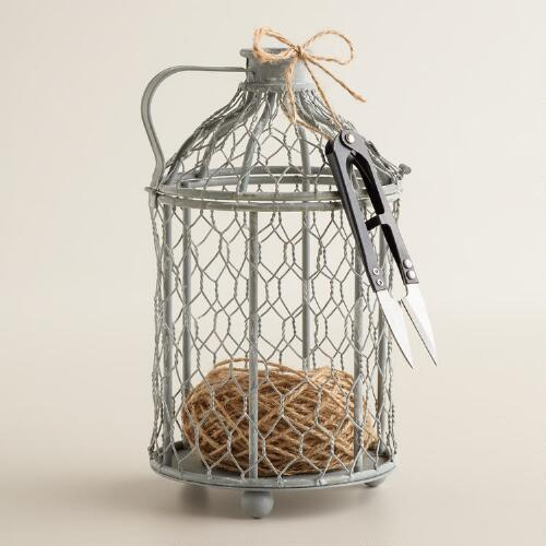 Birdcage String Holder