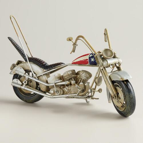 Metal Easy Rider Motorcycle Decor