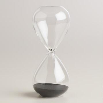 Large Glass Sand Timer