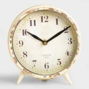 Small Ivory Charlie Clock