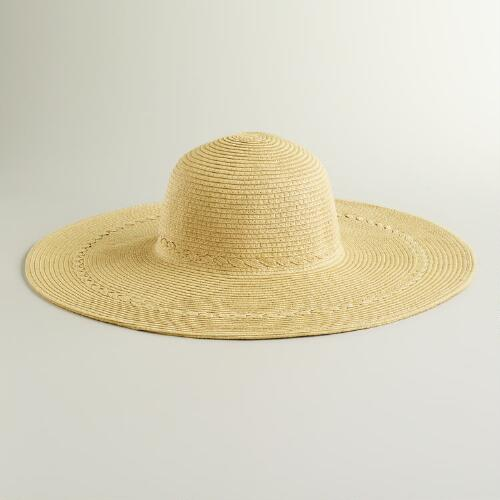 Natural Braided Sunhat