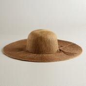 Brown and Tan Ombre  Sunhat