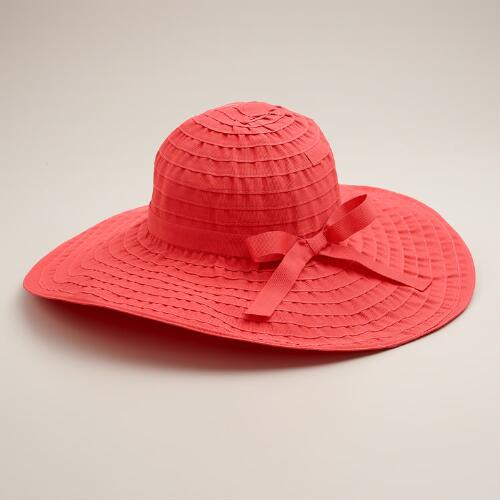 Wide Ribbon Sun Hat