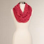 Watermelon Woven Infinity Scarf