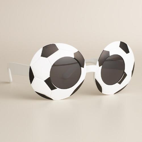 Soccer Ball Sunglasses