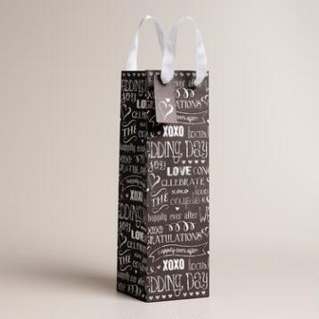 Chalk Love Wine Bag