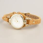 Natural Bamboo Watch