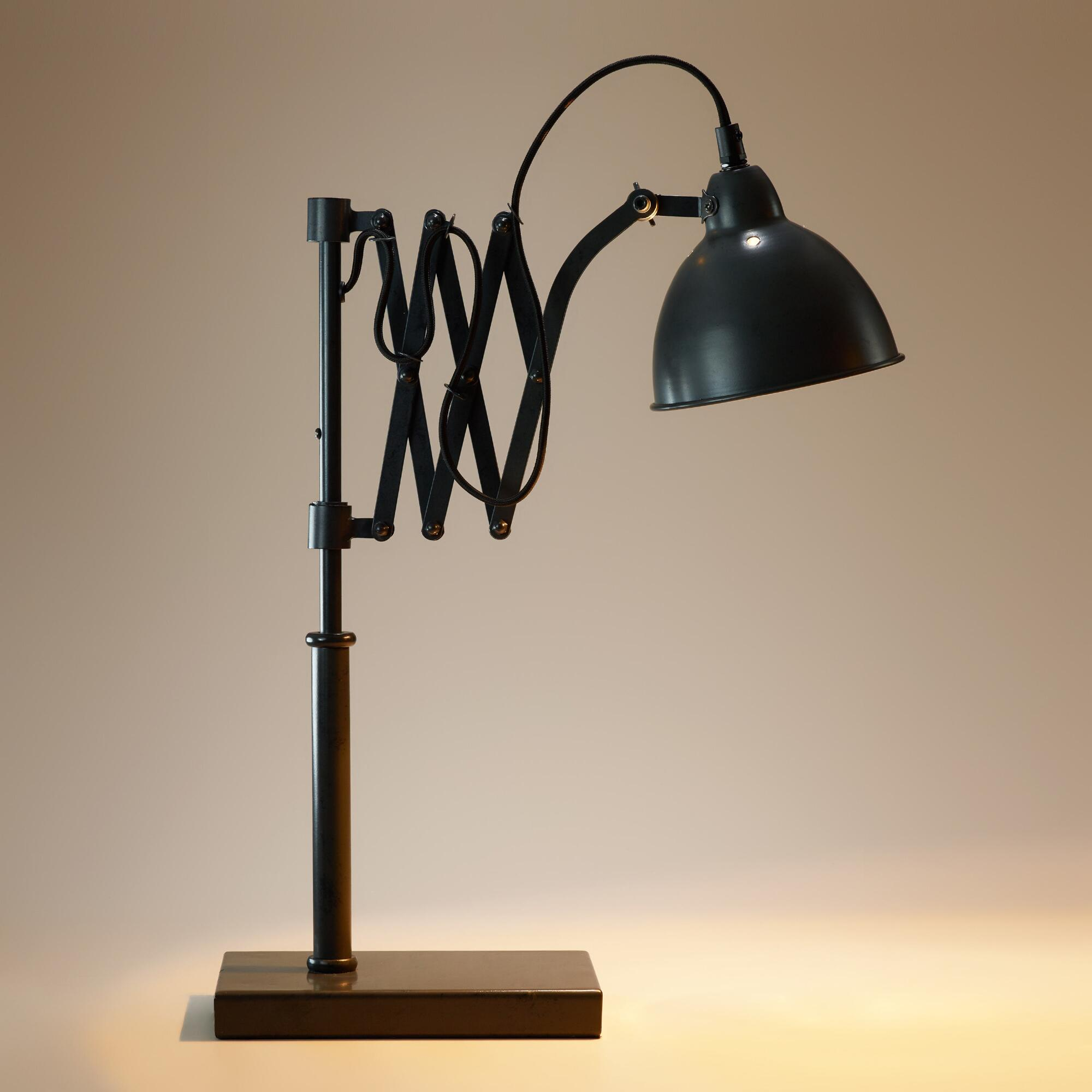 Accordion Task Table Lamp