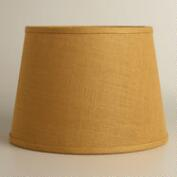 Harvest Gold Burlap Table Lamp Shade