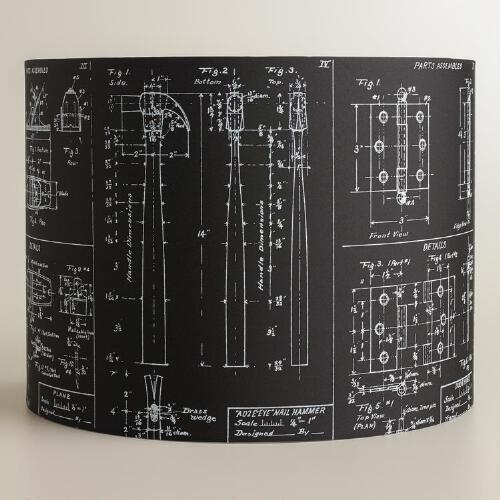 Architect Drum Table Lamp Shade
