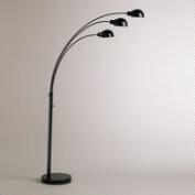Metal Arc 3-Arm Floor Lamp Base