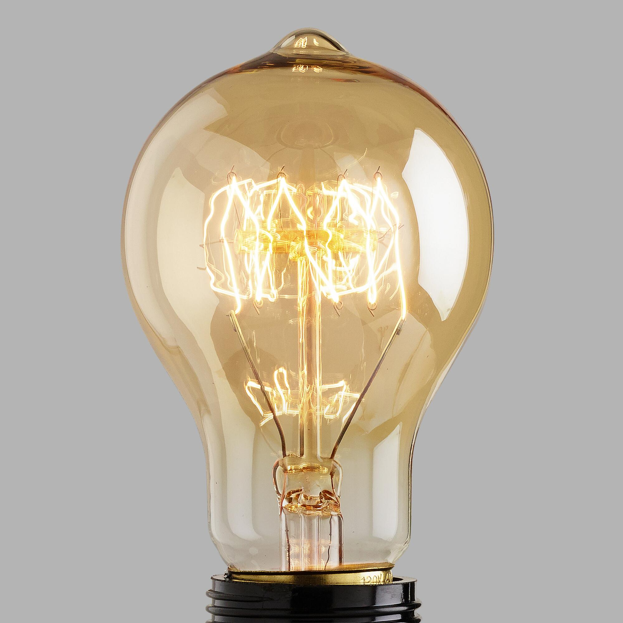 Round Edison Filament Light Bulb World Market