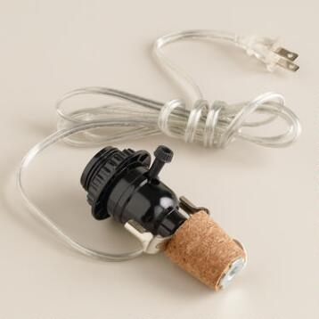 Cork Lamp Adaptor Kit