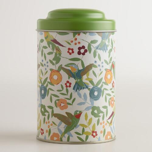 Woodland Bird Tea Tin