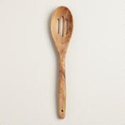 Olivewood Slotted Spoon