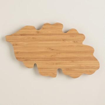 Oak Leaf Cutting Board
