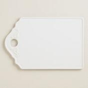 Large White Ceramic Cutting Board