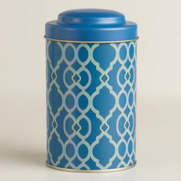 Ethel Blue Tea Tin