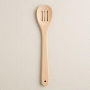 Beechwood Slotted Spoon