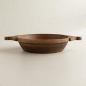 Wooden Chapati Bowl