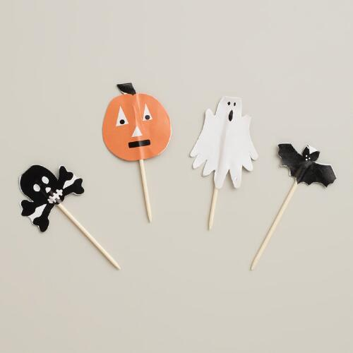Halloween Cupcake Toppers, 12-Count