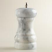 White Marble Salt and Pepper Mill