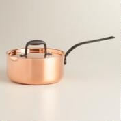 Copper 2-Quart Saucepan