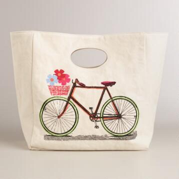 Bike Fluf Organic Cotton Lunch Bag