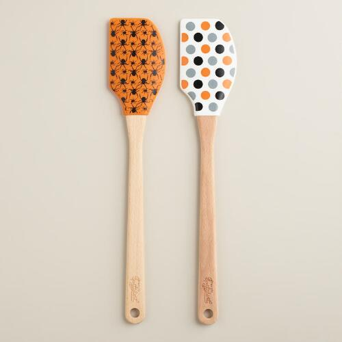 Spatulart Halloween Spatulas, Set of 2