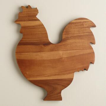 Rooster Cutting Board