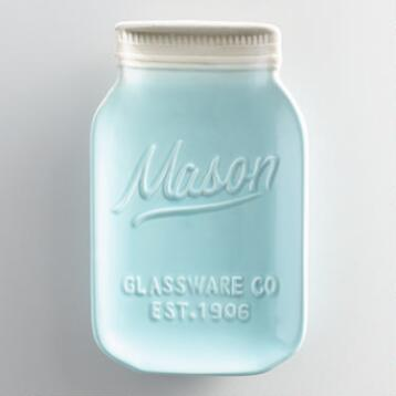 Mason Jar Ceramic Spoon Rest