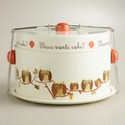 Owl Cake Carrier
