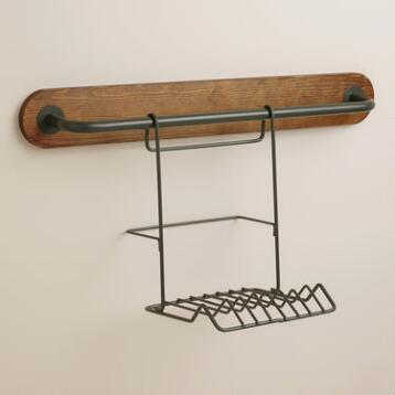 Modular Kitchen Wall Storage Plate Rack