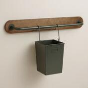 Wire Modular Kitchen Wall Storage Utensil Caddy