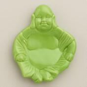 Green Buddha Ceramic Teabag Rest