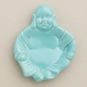 Aqua Buddha Ceramic Teabag Rest