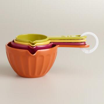 Harvest Colors Melamine Measuring Cups